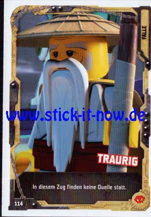 "Lego Ninjago Trading Cards - SERIE 5 ""Next Level"" (2020) - Nr. 114"