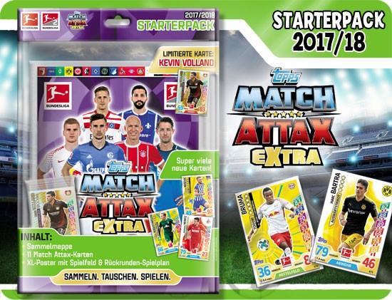 Topps Match Attax Bundesliga 17/18 EXTRA - Starter-Set