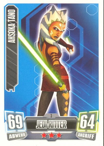 Force Attax - Serie II - Ahsoka Tano - Jedi-Ritter
