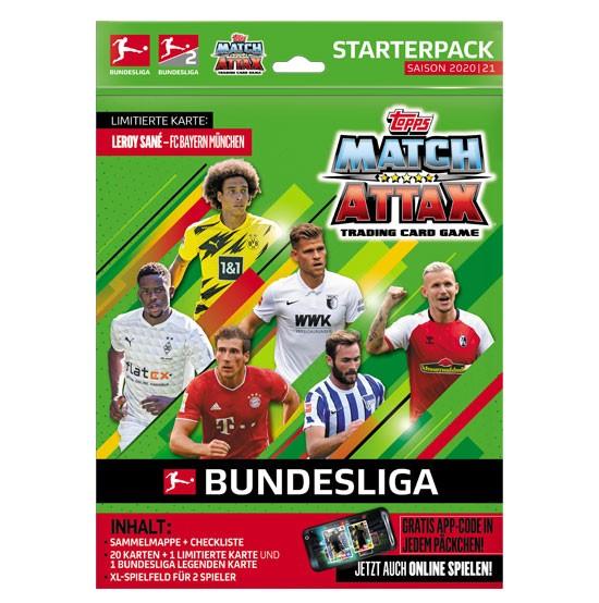 Topps Match Attax Bundesliga 2020/21 - Starter-Set XL