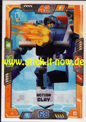 Lego Nexo Knights Trading Cards - Serie 2 (2017) - Nr. 2
