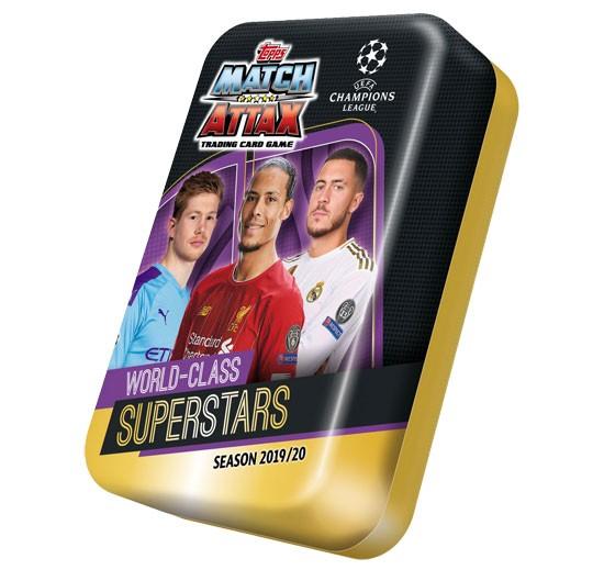 Match Attax Champions League 2019/20 - Sammeldose ( World-Class Superstars )