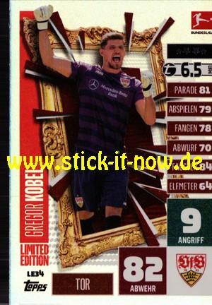 "Topps Match Attax Bundesliga 2020/21 ""Extra"" - Nr. LE 34 (Limitierte Auflage)"
