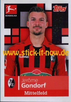 "Topps Fußball Bundesliga 2019/20 ""Sticker"" (2019) - Nr. 120"
