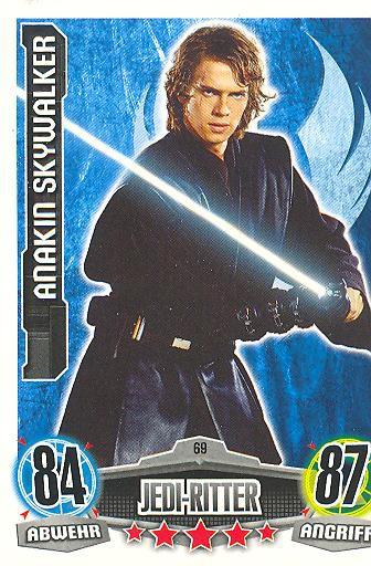Force Attax - ANAKIN SKYWALKER - Jedi-Ritter - Die Republik - Movie Collection