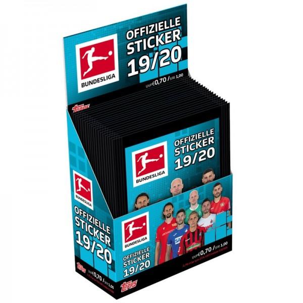 "Topps Fußball Bundesliga 2019/20 ""Sticker"" (2019) - Display (36 Tüten)"