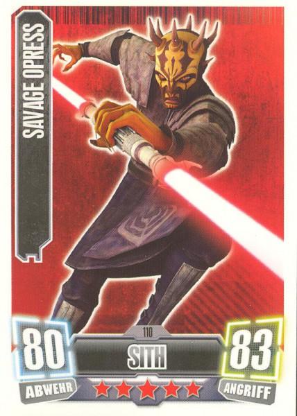 Force Attax - Serie II - Savage Opress - Separatist