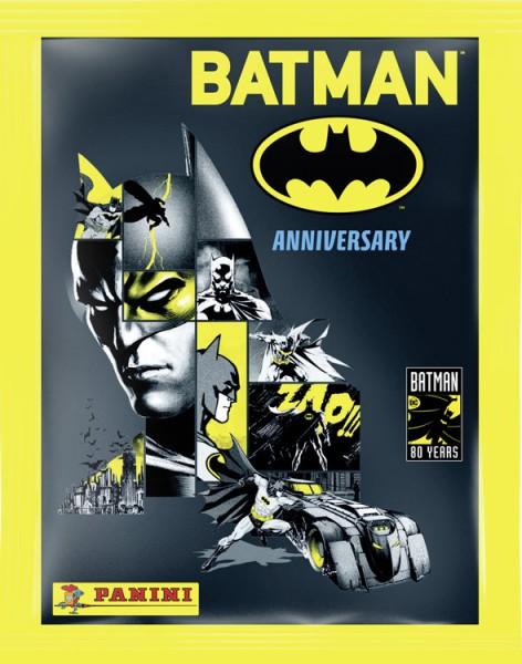 """80 Jahre Batman """"Anniversary"""" (2019) - Stickertüte ( 4 Sticker + 1 Karte )"""