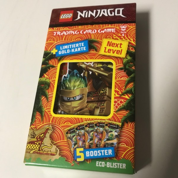 "Lego Ninjago Trading Cards - SERIE 6 ""Next Level"" (2021) - Blister 3 (LE 16)"