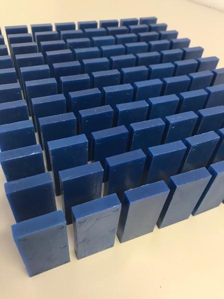 """100 Dominosteine - """"Blau"""""""