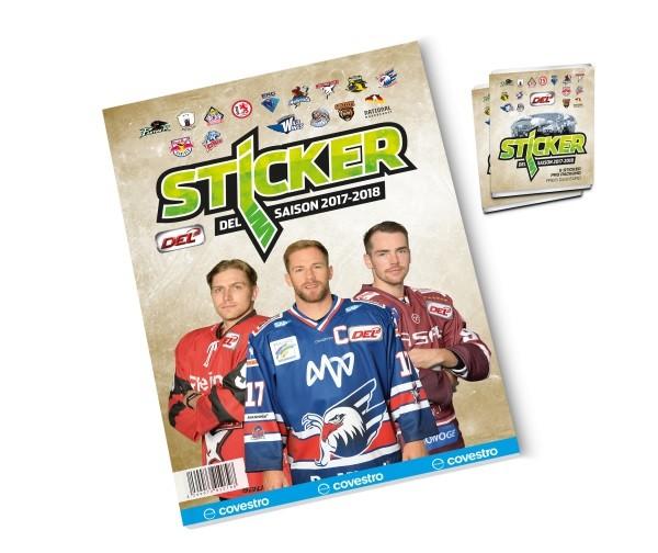 DEL - Deutsche Eishockey Liga 17/18 Sticker - Stickeralbum