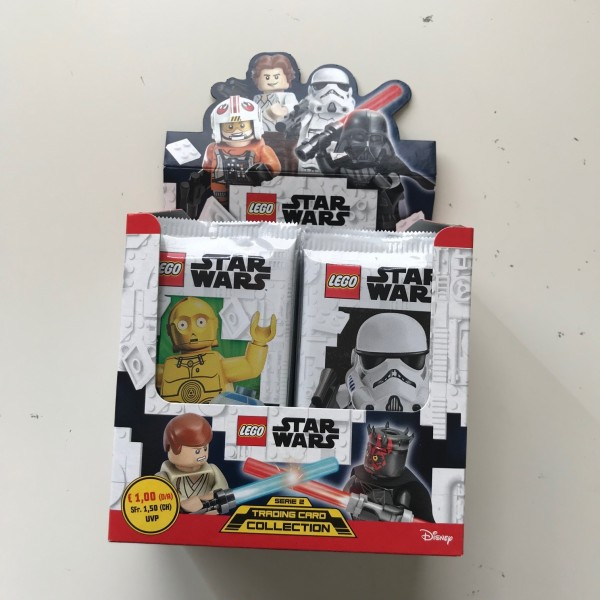 Lego Star Wars Trading Card Collection 2 (2019) - Display (50 Booster)