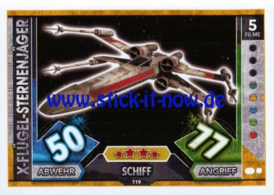 Topps Star Wars FORCE ATTAX UNIVERSE (2017) - Nr. 119