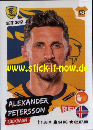 """LIQUI MOLY Handball Bundesliga """"Sticker"""" 20/21 - Nr. 78"""
