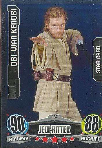 Force Attax - OBI-WAN KENOBI - Jedi-Ritter - STAR-CARD - Movie Collection