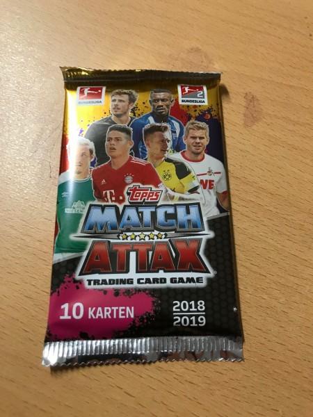Topps Match Attax Bundesliga 18/19 - Booster (10 Karten)