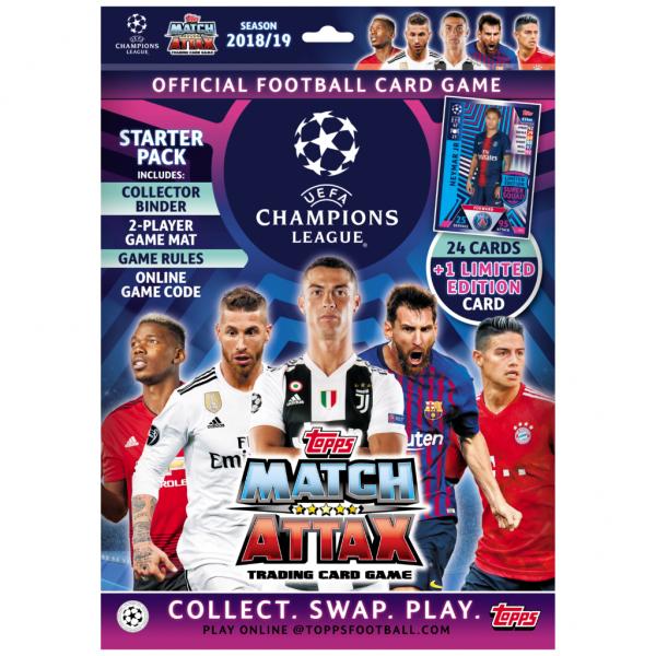 Match Attax Champions League 18/19 - Starter-Set