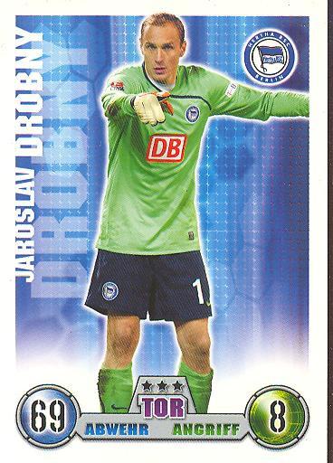 Jaroslav Drobny - Match Attax 08/09 - Hertha BSC Berlin