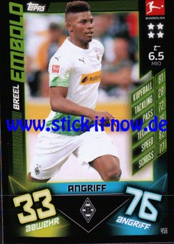 "Topps Match Attax Bundesliga 2019/20 ""Action"" - Nr. 456"