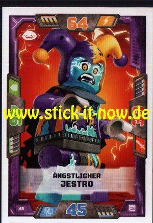 Lego Nexo Knights Trading Cards - Serie 2 (2017) - Nr. 49