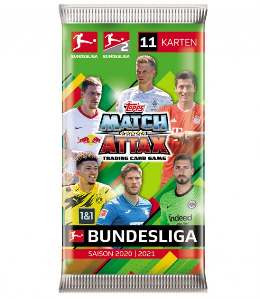 Topps Match Attax Bundesliga 2020/21 - Booster ( 11 Karten )