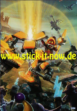 Lego Nexo Knights Trading Cards - Serie 2 (2017) - Nr. 104