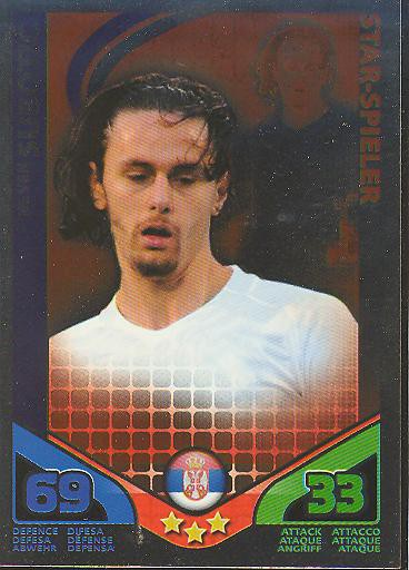Match Attax WM 2010 - GER/Edition - Star-Spieler - NEVEN SUBOTIC - Serbien