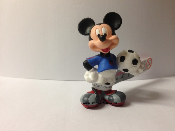 Bullyland Disney Goal WM 2014 Figur - Mickey Maus (Italien)