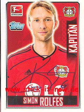 Topps Fußball Bundesliga 14/15 Sticker - Nr. 161