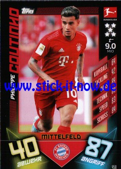"Topps Match Attax Bundesliga 2019/20 ""Action"" - Nr. 458"
