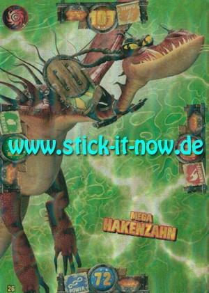 """Drachenzähmen """"Die geheime Welt"""" TC (2019) - Nr. 26 (Megadrachenkarte)"""