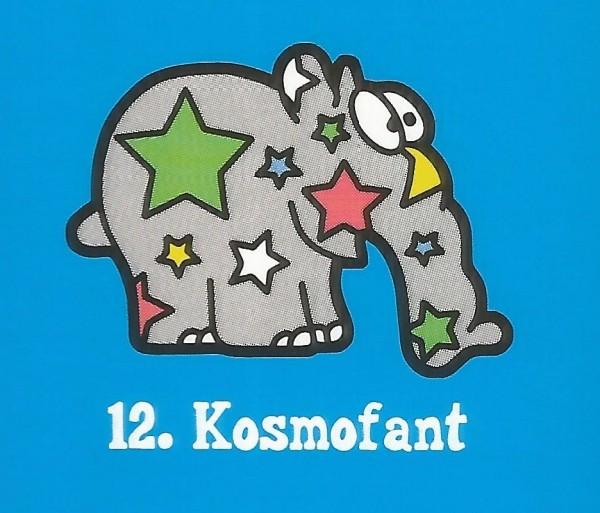 Edeka Ottifanten (2020) - Nr. 12 Kosmofant