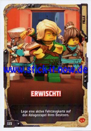 "Lego Ninjago Trading Cards - SERIE 5 ""Next Level"" (2020) - Nr. 115"