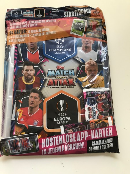 Match Attax Champions League 2020/21 - Starter-Set
