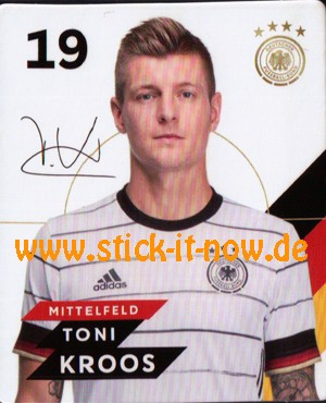 Rewe DFB Sammelkarten EM 2020 - Toni Kroos - Nr. 19