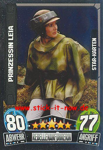 Force Attax Movie Collection - Serie 3 - Star-Karte - PRINZESSIN LEIA - Nr. 207