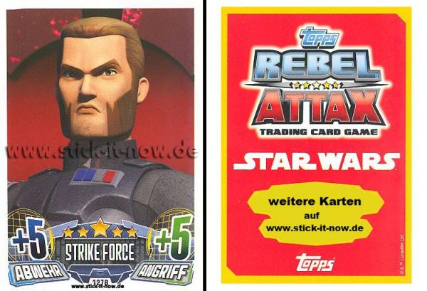 Rebel Attax - Serie 1 (2015) - STRIKE-FORCE - DAS IMPERIUM 2 - Nr. 127B