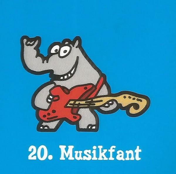 Edeka Ottifanten (2020) - Nr. 20 Musikfant