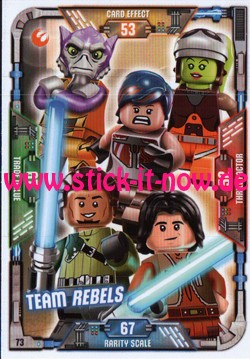 Lego Star Wars Trading Card Collection (2018) - Nr. 73