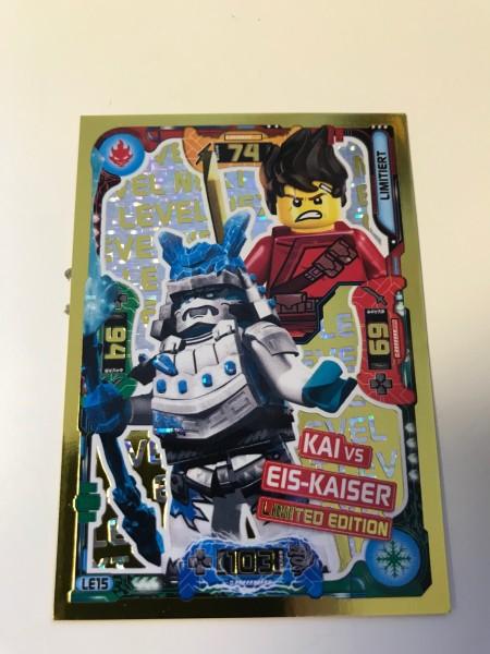 "Lego Ninjago Trading Cards - SERIE 5 ""Next Level"" (2020) - Nr. LE15"