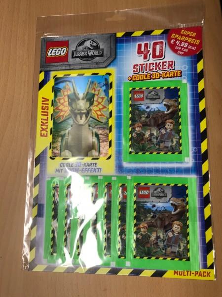 """LEGO """"Jurassic World"""" (2019) - Multipack ( XXL 3D Karte Nr. 4 von 4 )"""