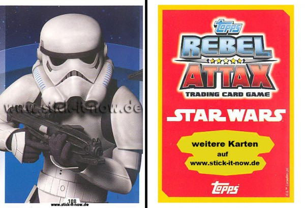 Rebel Attax - Serie 1 (2015) - STRIKE-FORCE - DAS IMPERIUM 1 - Nr. 108