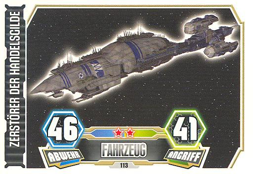 Force Attax - Serie 3 - Zerstörer der Handelsgilde - Nr. 113