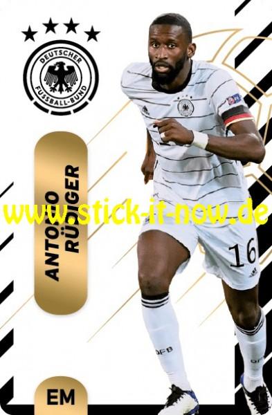 """Ferrero Team Sticker EM 2020 (2021) - """"Action"""" Nr. 4 ( Rüdiger )"""