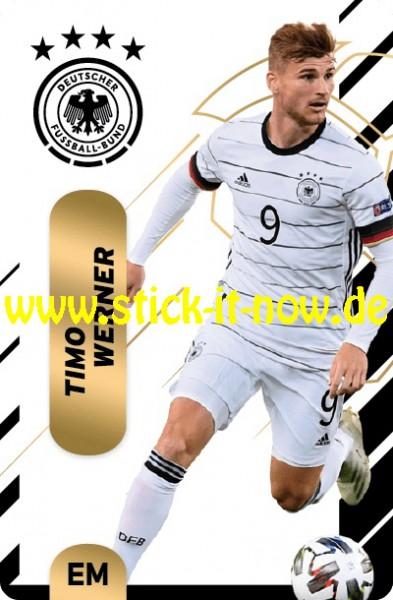 """Ferrero Team Sticker EM 2020 (2021) - """"Action"""" Nr. 20 ( Werner )"""