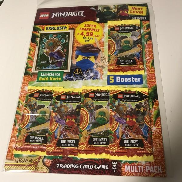 "Lego Ninjago Trading Cards - SERIE 6 ""Next Level"" (2021) - Multipack 3 (LE 14)"