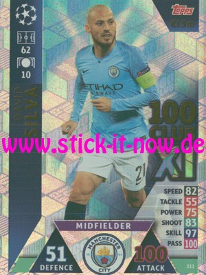 "Match Attax CL 18/19 ""Road to Madrid"" - Nr. 211"