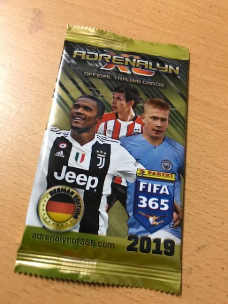 Panini FIFA 365 Adrenalyn XL (2019) - Booster (6 Karten )