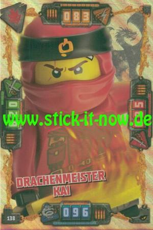 Lego Ninjago Trading Cards - SERIE 4 (2019) - Nr. 138 ( Drachenmeister )
