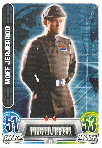 Force Attax Movie Collection - Serie 2 - Moff Jerjerrod - Nr. 36